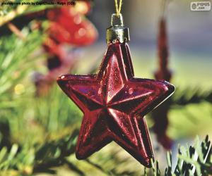 Weihnachtsstern puzzle