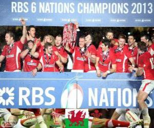 Welsh Meister 2013 Six Nations puzzle