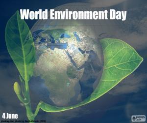 Welt-Umwelttag puzzle