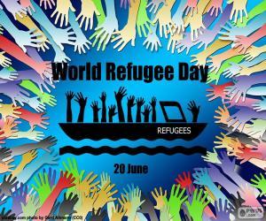 Weltflüchtlingstag puzzle