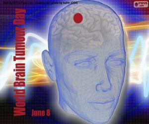 Welttag des Hirntumors puzzle