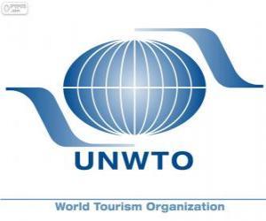 Welttourismusorganisation UNWTO-Logo puzzle