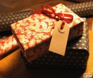 Wer ist das Geschenk für? puzzle