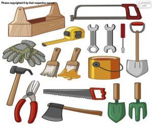 Werkzeuge puzzle