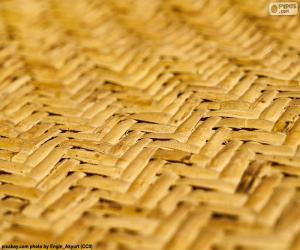 Wicker-Teppich puzzle