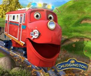 Wilson, der Lokomotive Protagonist von Chuggington puzzle