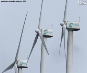 Windkraftanlagen puzzle
