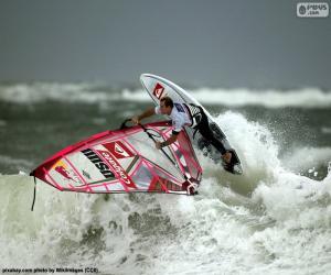 Windsurfen-Welle puzzle