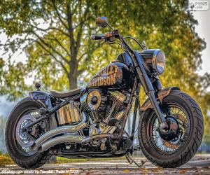 Wunderschöne Harley-Davidson puzzle