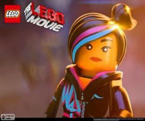 Wyldstyle, ein freier Geist des Films Lego puzzle
