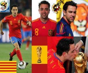 Xavi Hernandez (Der Staffelstab) Spanish National Team Mittelfeldspieler puzzle