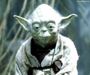 Yoda war ein Mitglied des Hohen Rates der Jedi-Ritter vor und während dem Krieg der Klone. puzzle