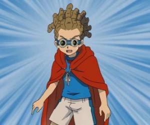 Yuuto Kido oder Jude Sharp spielt im Mittelfeld und ist die sub-Kapitän Raimon Team puzzle