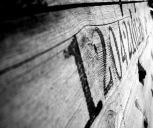 Zahlen auf Holz puzzle