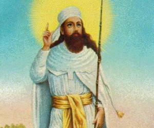 Zarathustra oder Zoroaster, propheten und gründer des Zoroastrismus puzzle