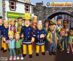 Zeichen, Feuerwehrmann Sam puzzle
