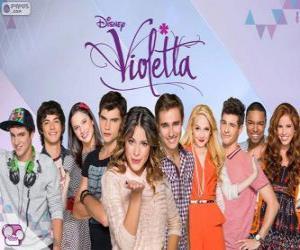 Zeichen von Violetta puzzle