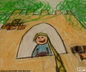 Zeichnung von Rapunzel puzzle
