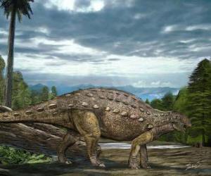 Zhejiangosaurus lebte vor ungefähr 100 auf 94 Mio. Jahren puzzle