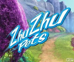 Zhu Zhu Pets logo puzzle