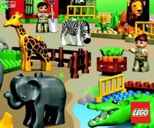 Zoo von Lego puzzle