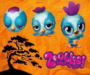 Zooble kleine Vogel aus Petagonia puzzle