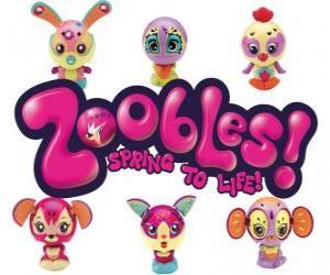 Zoobles Logo puzzle
