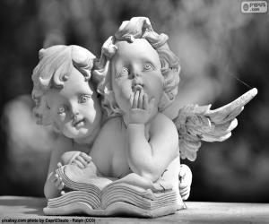 Zwei Engel der Liebe puzzle