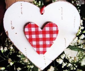 Zwei Herzen puzzle