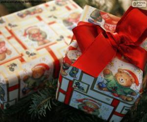 Zwei Weihnachtsgeschenke puzzle