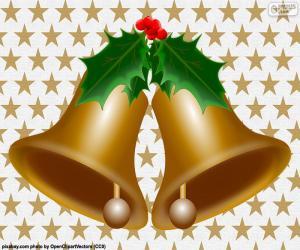 Zwei Weihnachtsglocken puzzle