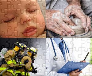Menschen und Arbeitsplätze puzzles