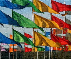 Flaggen, Embleme und Logos puzzles