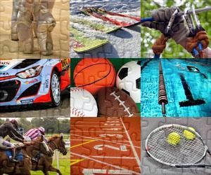 Sport und Abenteuer puzzles