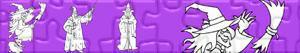 puzzles Hexen und Zauberer