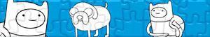 puzzles Adventure Time - Abenteuerzeit