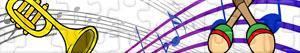puzzles Musikinstrumente