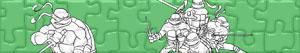 puzzles Ninja Turtles