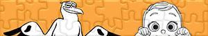puzzles Störche - Abenteuer im Anflug