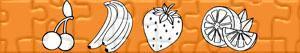 puzzles Früchte