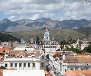 Historische stadt von sucre bolivien puzzle