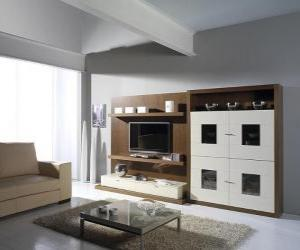 moderne m bel puzzle zum ausdrucken. Black Bedroom Furniture Sets. Home Design Ideas