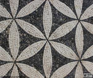R misches mosaik puzzle zum ausdrucken for Mosaik vorlagen zum ausdrucken