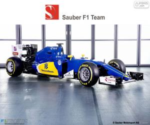 sauber f1 team puzzle und ravensburger. Black Bedroom Furniture Sets. Home Design Ideas